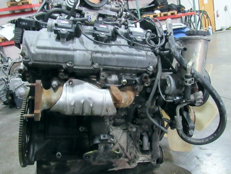 Двигатель Тойота с зарубежного аукциона