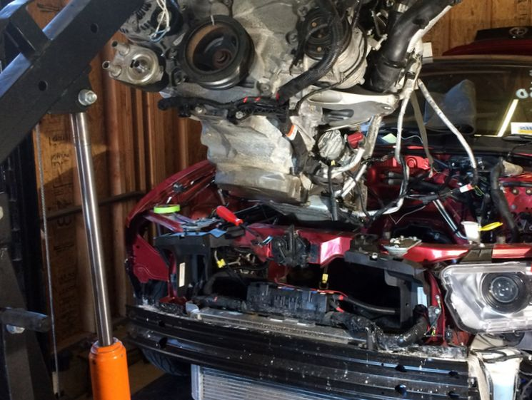 Как происходит замена двигателя автомобиля