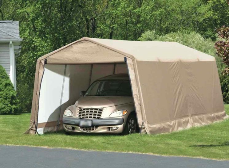 Хранение авто в гараже тенте