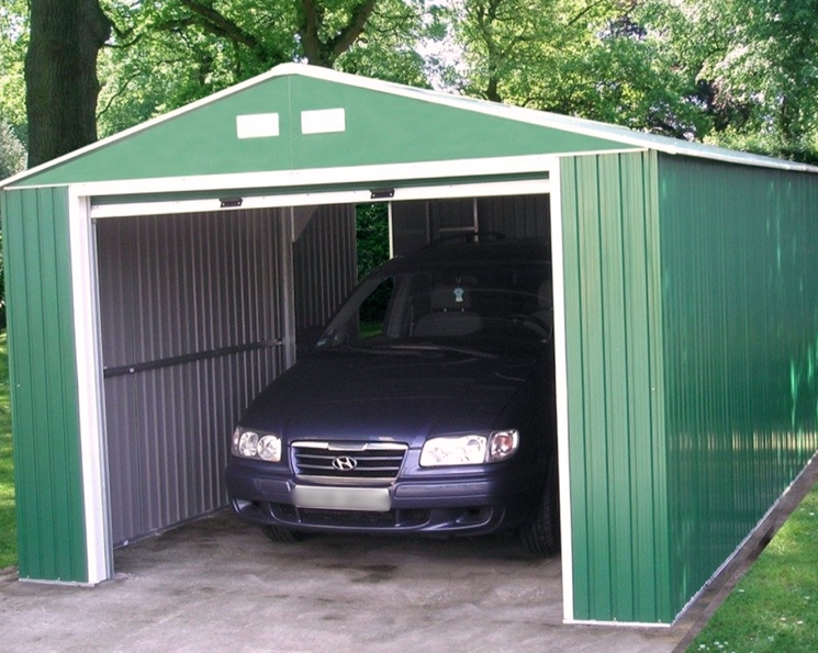 Хранение авто в металлическом гараже