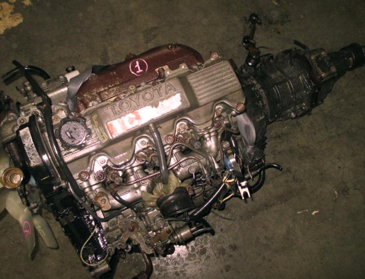Контрактный дизельный двигатель Тойота