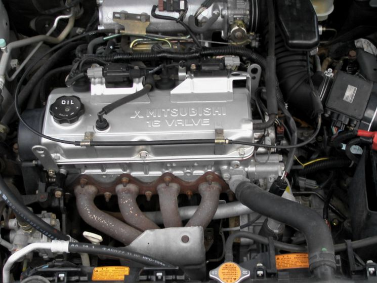 Где купить контрактный двигатель на Mitsubishi