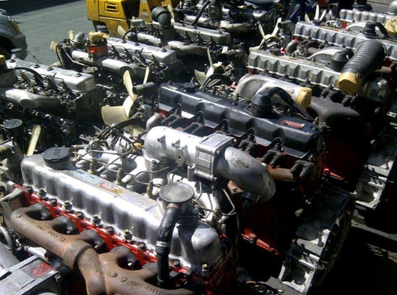 Контрактные двигатели и запчасти