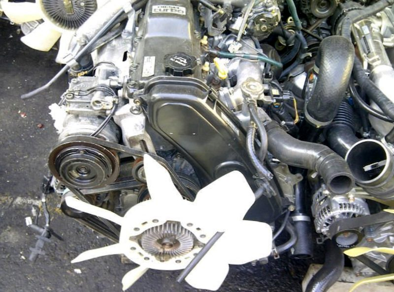 Контрактные двигатели из Японии
