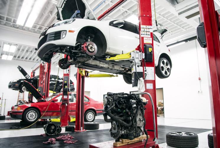 Замена двигателя в автосервисе